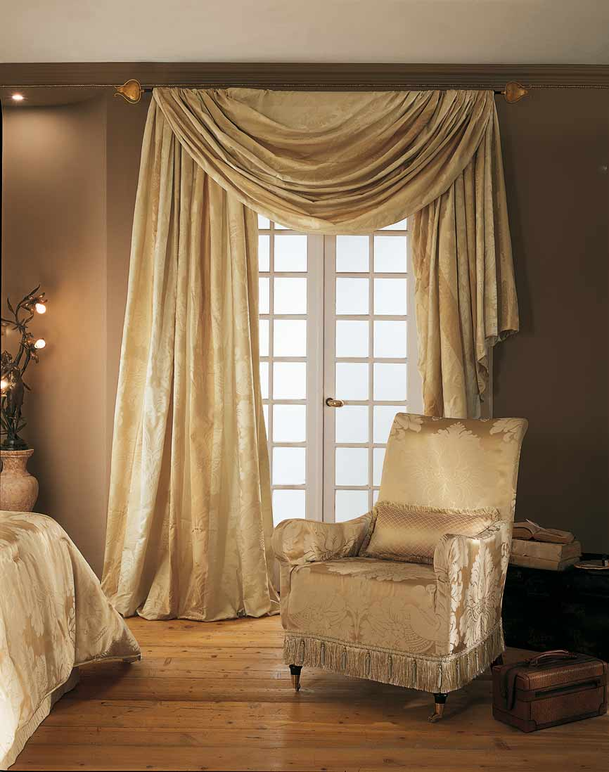 Elegantextile fabrics for Decoration chambre a coucher